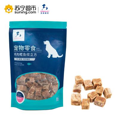 英國普寵(GENERAL PET )雞肉鱈魚味小丁狗零食100g