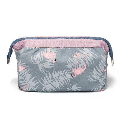 第九城(V.NINE)多功能洗漱收纳包女式大容量化妆包杂物便携旅行收纳袋