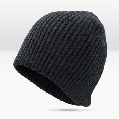 帽子男士韓版潮保暖針織帽冬 季加絨加厚毛線帽女成人睡帽套頭冷帽