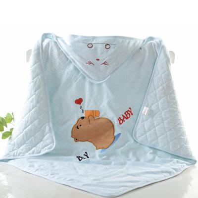 【官方旗艦正品】葆適得嬰兒抱被初生兒新生兒寶寶純棉襁褓春秋四季款夾棉保暖包被