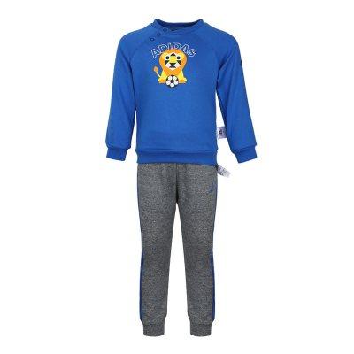 阿迪達斯兒童(ADIDAS KIDS) 男嬰童套頭長袖套裝DM7038