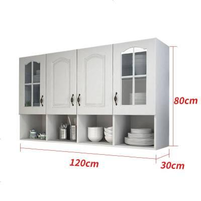 顾致厨房吊柜墙壁柜挂墙式壁柜墙上储物柜阳台顶柜卫生间玻璃挂柜定制