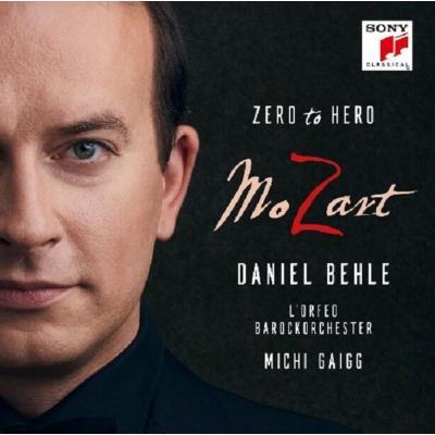 19075964582 莫扎特 從無到有的英雄 Daniel Behle 男高音CD 預訂