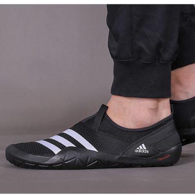 阿迪達斯(adidas)男女情侶款戶外運動快干透氣休閑鞋沙灘溯溪鞋M29553