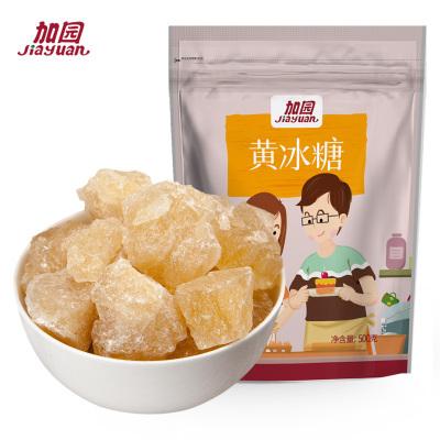 加園(Jiayuan)黃冰糖 多晶老冰糖土冰糖 調味食糖 冰糖燉雪梨枸杞銀耳蓮子紅棗百合羹配料
