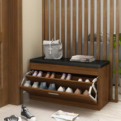 多功能北歐換鞋凳鞋柜可坐鞋柜收納穿鞋凳式家用門口換鞋凳子簡約
