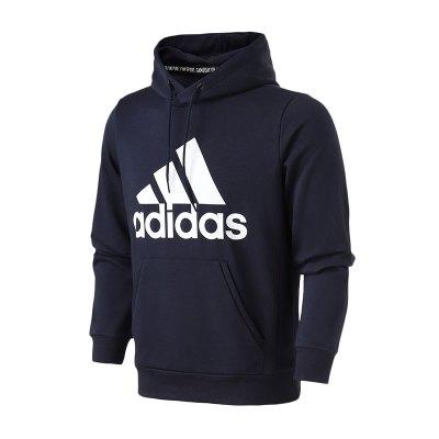 adidas阿迪达斯男服卫衣2019常规款运动卫衣连帽套头休闲运动服DT9943
