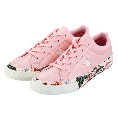 匡威儿童(CONVERSE KIDS)女小童布面胶鞋2018年秋季新款魔术贴四季童鞋362190C-H90C