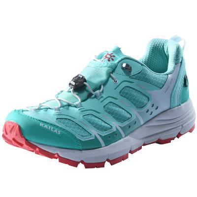 凱樂石戶外運動跑鞋女 低幫輕量透氣防滑V底越野跑山鞋飛翼2.0+