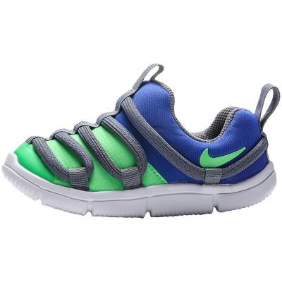 【自營】NIKE童鞋男女嬰童休閑鞋舒適拼色一腳蹬跑步運動鞋AQ9662