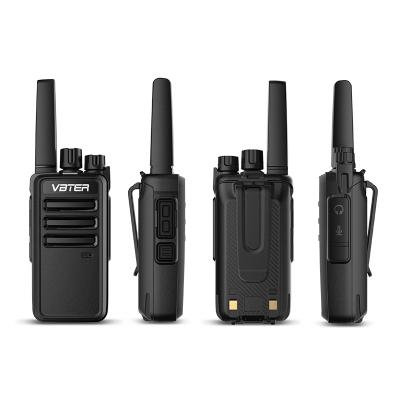 【2臺裝】威貝特對講機 專業大功率遠距離對講戶外商務辦公民用手持臺迷你對講器 黑色
