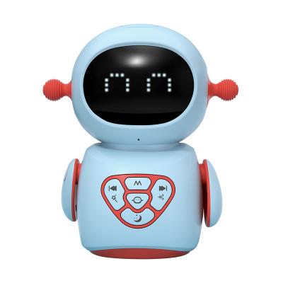 貝恩施早教機兒童智能故事機寶寶早教益智玩具嬰兒學說話唱歌跳舞機器人玩具0-1-3歲 益智跳舞機器人(藍色)