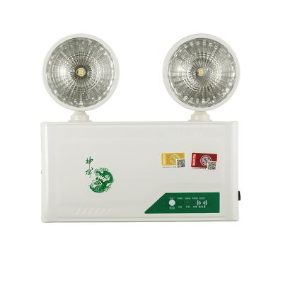 神龍 消防雙頭應急燈 3C認證高亮LED商用家用雙頭應急燈 KX-ZFZD-E3WF