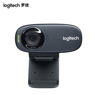 【罗技旗舰店】罗技(Logitech)C270 高清网络摄像头CMOS元件高清台式电脑摄像头带麦克风 家用网络智能电视摄