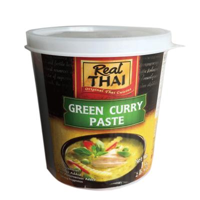 丽尔泰REALTHAI青咖喱酱1KG咖喱酱1000g罐装泰国进口咖喱蟹调味料理进口调味品火锅底料