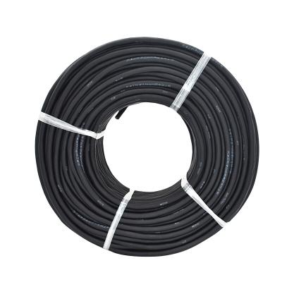 津達線纜 國標彈性體TVR3芯1/1.5/2.5/4/6平方護套軟電纜線 耐磨耐油耐寒 黑色