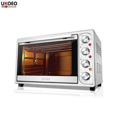UKOEO HBD-5002 全自動電烤箱家用大容量52L烘焙8管多功能烤箱