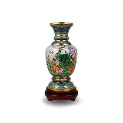 中国工艺美术师钟连盛景泰蓝《盛世欢歌》