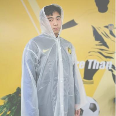 江蘇蘇寧足球俱樂部官方定制款正品 加大加厚非一次性透明 官方雨衣 球迷專屬