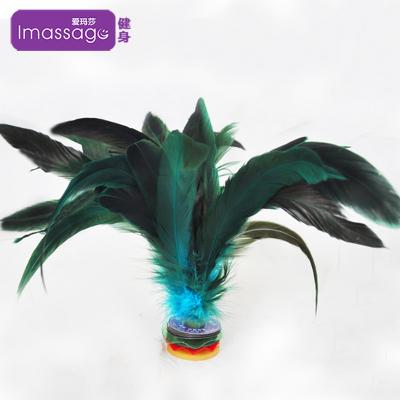 【買2送1】愛瑪莎(Imassage) 毽球雞毛毽子 牛筋底耐踢毛毽子 優質雞毛毽子IM-JS04B