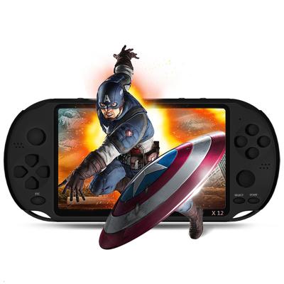 霸王小子X12掌上懷舊大屏PSP PSV游戲機掌機抖音款兒童益智電玩街機GBA玩具 8G內存