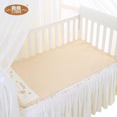 良良(LIANGLIANG)嬰幼兒純苧麻保健兒童涼席米咖 LLB01-1C(110*60cm)