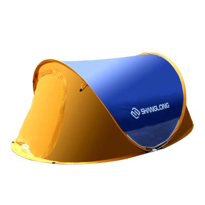 尚龙全自动帐篷 双人双门速开帐篷 全自动懒人帐篷 纱门纱窗休闲舒适 方便携带 SL-020