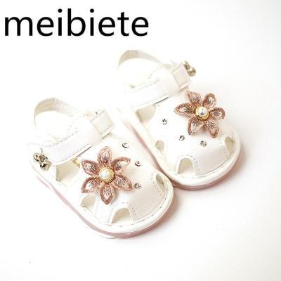 帶燈夏季兒童涼鞋女童鞋女寶寶鞋子嬰兒鞋軟底學步鞋公主鞋