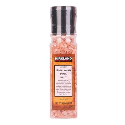 【厨房调料】柯克兰(Kirkland) 喜马拉雅红盐 368.5g/瓶 科克兰 柯可蓝 进口食品 坚果 美国进口