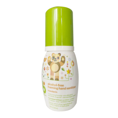 美国进口甘尼克(BABY GANICS)婴儿宝宝儿童泡沫便携柑橘型免洗洗手液50ml 有香型