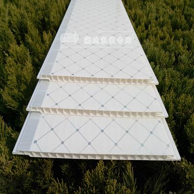 PVC扣板天花板吊顶厨房客厅卫生间塑料长条扣板通用 工装装饰板材 20公分宽4米长每片 其他 不含