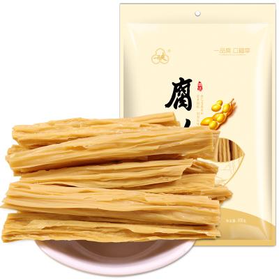 一品爽腐竹500g豆黄金天然腐竹干货纯正手工非特级农家凉拌豆腐皮