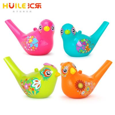 匯樂玩具(HUILE TOYS)彩繪水鳥 529 兒童玩具/口哨吹奏 單只小鳥 顏色隨機(ABCD四色)