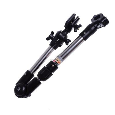 新款加厚多功能撑伞架电动助动车支伞架山地自行车雨伞支架 自行车型