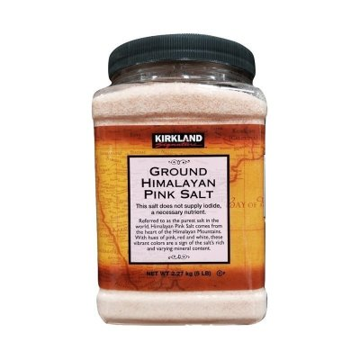 【純凈無添加】柯克蘭(Kirkland) 喜馬拉雅紅鹽 2.27kg/罐 科克蘭 柯可藍 廚房調味 進口鹽 日本進口