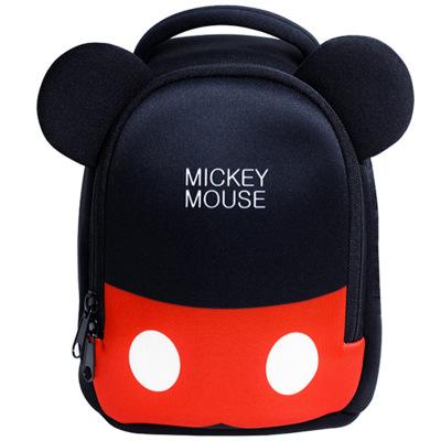 迪士尼防走失背包兒童幼兒園書包小男女寶寶1-3-6歲可愛雙肩包旅游輕便時尚米奇fz0204