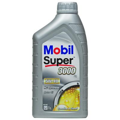 【全合成機油】Mobil美孚 歐洲進口 速霸3000 Super 3000 X1 5W-40 1L