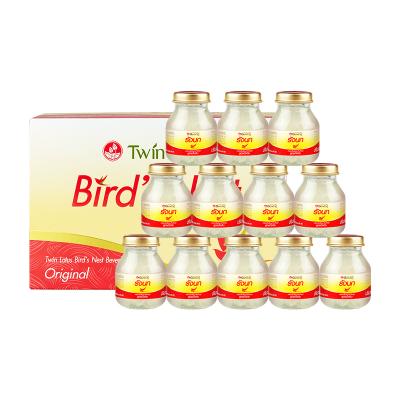 2件装|TwinLotus双莲 即食燕窝原味冰糖型 75ml*6瓶装
