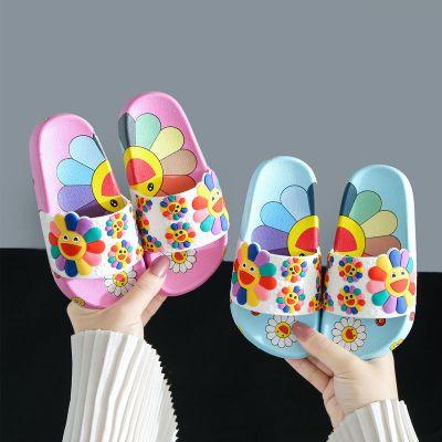 佐歐雅2020兒童拖鞋女童夏時尚外穿可愛花朵小公主居家室內寶寶中小童涼拖鞋