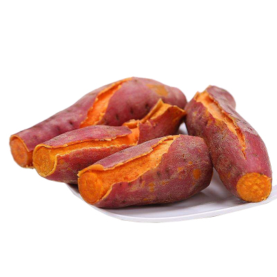 地瓜公主福建六鳌红薯 蜜薯 红心地瓜 5斤 红蜜薯 单果重约70-180克