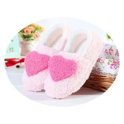 愛心月子鞋產婦棉拖鞋愛心包跟軟底家居室內拖鞋無聲防滑經典款式