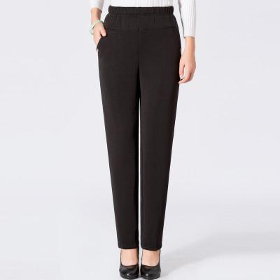 中老年外穿打底褲女褲大碼彈力媽媽褲子保暖棉褲 1號 4XL