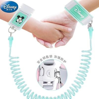 迪士尼(DISNEY)兒童防走失帶牽引繩手環寶寶防丟失繩小孩幼兒遛娃