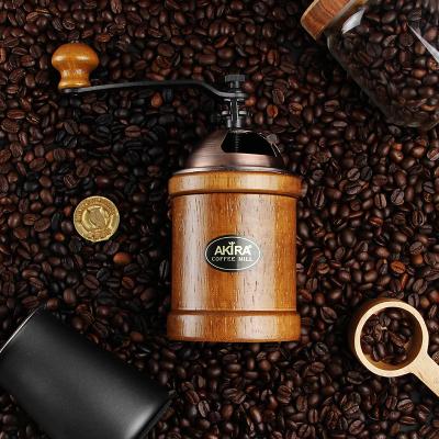 手摇咖啡磨豆机手工研磨机A12复古手动磨粉器家用