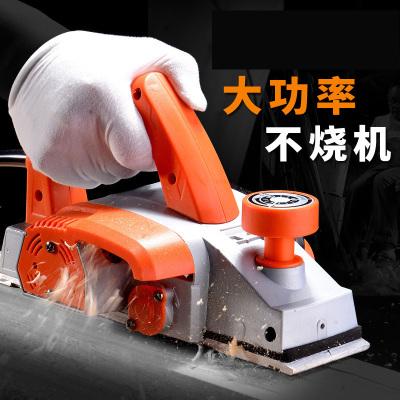 木工电刨手提刨家用多功能电刨子压刨机古达木工工具电动工具 豪华款铝体(工具箱包装)