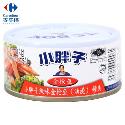 【家乐福】小胖子(TC BOY)辣味金枪鱼(油浸)罐头180克