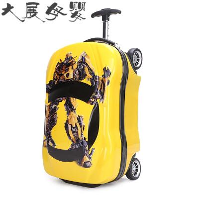 儿童拉杆箱行李箱1618寸定制可爱卡通四轮拖箱男女宝宝学生旅行箱