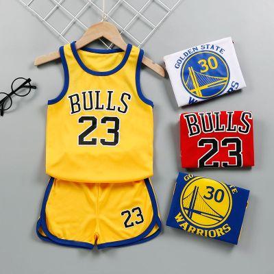 星客士 兒童籃球服套裝夏天男童女童中大童球衣男孩戶外運動背心兩件套