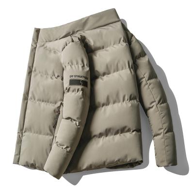 男裝冬季新款男士棉衣男加厚保暖立領棉服男柔軟舒適時尚男士外套男衣服吉普戰車(JIPUZHANCHE)