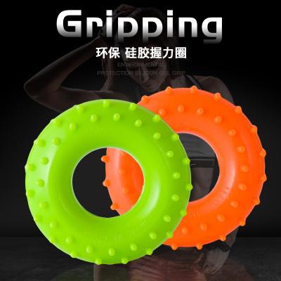 O型握力圈硅胶橡胶圈 男女手指康复训练器成人儿童锻练手力握力器